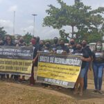 Vídeo – Professores faz manifestação no dia mundial do professor em Lagoa do Mato-MA
