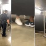 Comemoração? Torcedores são flagrados fazendo sexo em banheiro de estádio; Veja o vídeo