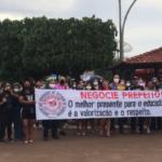 Dia do Professor é marcado por protesto na gestão de Léo Cunha em Estreito-MA